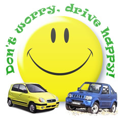 Don't worry, drive happy in Crete with Kera Tours car rental full insurance and service